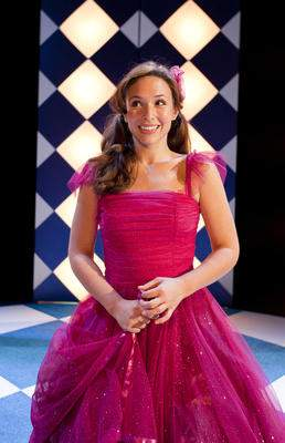 "Brooke Rucidlo as ""Cinderella"" At Ensemble Theatre of Cincinnati."