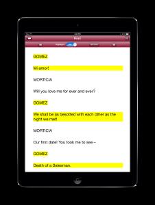 ScenePartner App