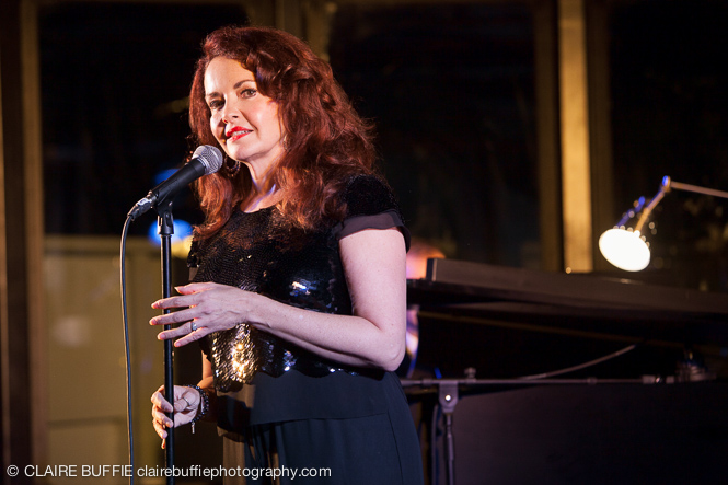 Michelle Ragusa singing the title song from Tenderly the Rosemary Clooney Musical