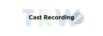 Cast Recording - TRW Musicals