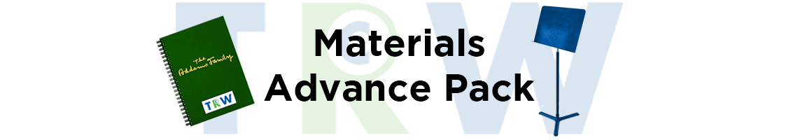 Materials Advance Pack - TRW Musicals