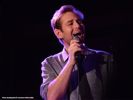 Chad Kimball 54 Below Sings Memphis