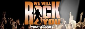 TRW - We Will Rock You Young at Part